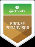 Quickbooks Bronze ProAdvisor Badge