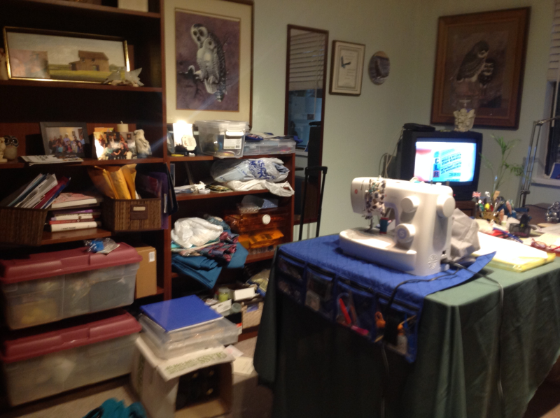 Donna's Office before our consultation. A dream come true for Donna. https.//connygraf.com